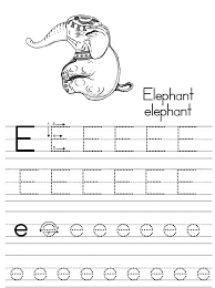 It doesn't matter if they. Alphabet Abc Letter E Elephant Coloring Page