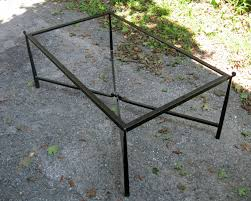 Iron And Glass Coffee Table Iron Tray Chic