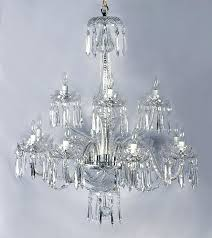 waterford crystal chandelier arm chandelier waterford crystal chandelier 6 arm
