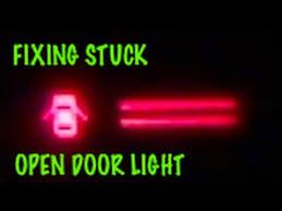 how to fix open door ajar dome light that stays on 1987 corolla premium
