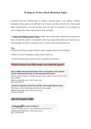 how to write a research paper in steps ppt nuvolexa 10 steps to write a basic research paper how essay outline 10stepstowriteabasicresearchpaper 151221215031 thumbn how to