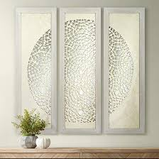 pini woven ivory 47 high mirrored wall