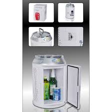 office mini refrigerator. 11 Liters Can Shape Mini Fridge For Home, Office And Car - White Refrigerator