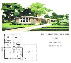 mid century modern house plans. Mid Century House Plans Floor Small Homes Ranch Home Modern 1960s .