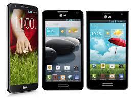 carry LG G2, Optimus F6 and Optimus F3 ...