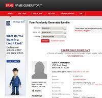 com Down Name Fake - Is Right Fakenamegenerator Now Generator