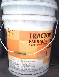 Asian Paint Tractor Emulsion 20 L White