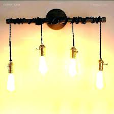diy pipe lighting. Copper Pipe Light Fixture Outstanding How To  Make A . Diy Lighting