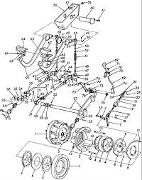 ford 555b backhoe parts diagram diagram brake problem one pedal not working