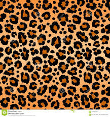 Leopard Pattern Gorgeous Leopard Pattern Texture Repeating Seamless Orange Black Fur Print