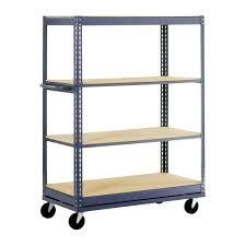 edsal steel shelving wonderful steel shelving in h x in w x in d 4 shelf edsal 5