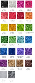 The Elusive List Of Colors From Perler 11 000 22 000 Jars