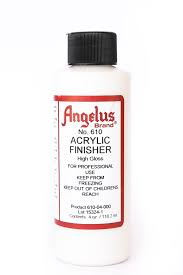 angelus brand acrylic leather paint high gloss finisher no 610 4oz com