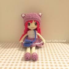 Amigurumi Doll Patterns Inspiration 48PATTERN PACK Japanese Anime School Girl Amigurumi Doll 48