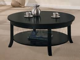 furniture black round coffee table lovely photo of black round