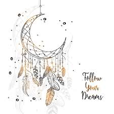 Drawn Dream Catchers