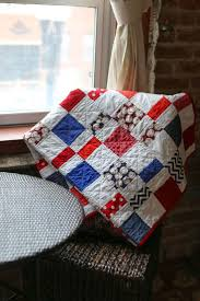 32 best Baby Brantley Quilt images on Pinterest | Baseball, Yards ... & Red & Blue Baseball Quilt Adamdwight.com