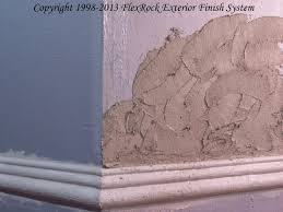 Stucco Texture Of The FlexRock Exterior Finish System FlexKote - Exterior stucco finishes