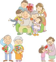 「中年家族 イラスト」の画像検索結果