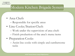 45 Veritable Organization Chart Of The Modern Kitchen Brigade