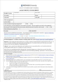 Cover For Assignment Template University Assignment Cover Sheet Templates At