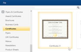 Templates For Certificates Professional Certificate Maker Free Online App And