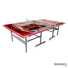promo promotional ping-pong table design your own custom branded table  tennis board