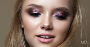 makeup artistry portfolio shimmery look
