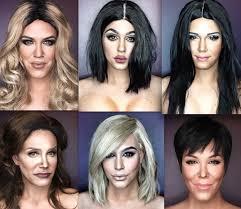 guy uses makeup to look like celebrities