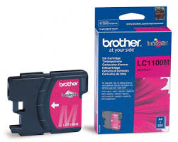 <b>Картридж</b> струйный <b>Brother LC1100M</b> Magenta — купить за 1190 ...