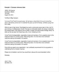 Recommendation Letter For A Friend Template 10 Reference Letter For A Friend Template Proposal Sample