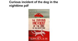 curious incident of the dog in the nighttime pdf google docs