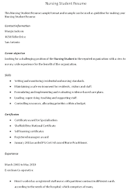 Staff Nurse Resume Format Resume For Staff Nurse Cover Letter New Grad Nursing Resume Template