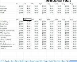 Free Monthly Expenses Template Personal Budget Spreadsheet Business ...