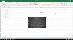 2d Line Chart In Excel How To Create A 2d Line Chart In Excel 2016