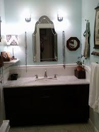 1930s hall bath remodel finished reveal