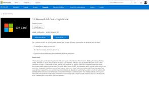 Microsoft Giftcard Microsoft Gift Cards Now Listed In Place Of Windows Store