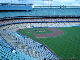 Dodger Stadium Seating Chart With Rows Los Angeles Dodgers Dodger Stadium Seating Chart