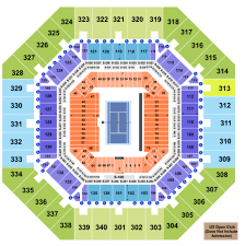 Arthur Ashe Stadium Seating Chart With Seat Numbers Us Open Seating Chart For Arthur Ashe Louis Armstrong