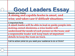 today s agenda review paragraphs essay notes  16 good leaders essay