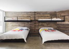 Quebec Bedroom Furniture Quebec Home By Mu Architecture Blends In With Snowy Terrain