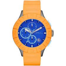 men s marc jacobs mbm5545 buzz track watch francis gaye jewellers men 039 s buzz track orange amp