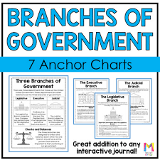 Three Branches Of Government Chart Branches Of Government Posters