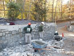 Small Picture Stone Retaining Wall Design Masonry Retaining Wall Design Home And