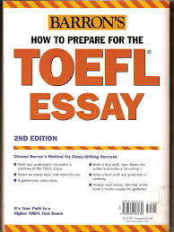 barron s how to prepare for the toefl essay part  21567465 barron s how to prepare for the toefl essay part 1 essays paragraph