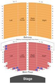 Orpheum Theater Seating Chart Sioux Falls