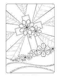 Sunday School Printable Coloring Pages Free Easter Adult Page By