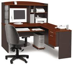 office desk workstation. Bestar L-shaped Computer Desk Workstation Office