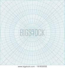 Blue Polar Coordinate Vector Photo Free Trial Bigstock