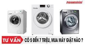 Có 5 đến 7 triệu, mua máy giặt nào? - Nguyễn Kim - YouTube